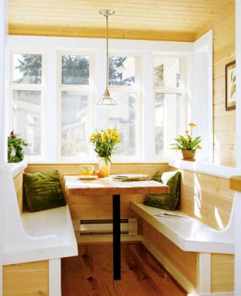 later on jumping into building furniture first fancy was our farmhouse we  needful kitchen nook i.